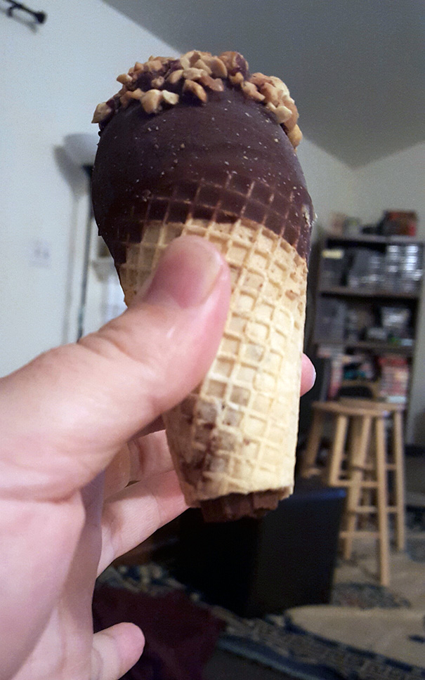 Girlfriend Asked For A Bite Of My Ice Cream. Pretty Sure This Is Breakup Material Right Here