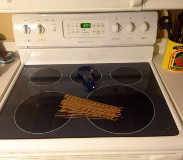 Last Night I Asked My Husband To Put Some Spaghetti On The Stove So I Could Start Dinner When I Got Home