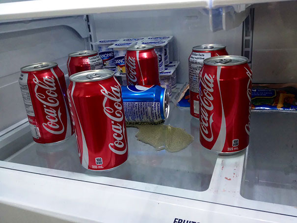 Last Night I Told My Boyfriend, Who Is A Coke Fan, That I Like Pepsi Next. This Is What I Found When I Got Home Today