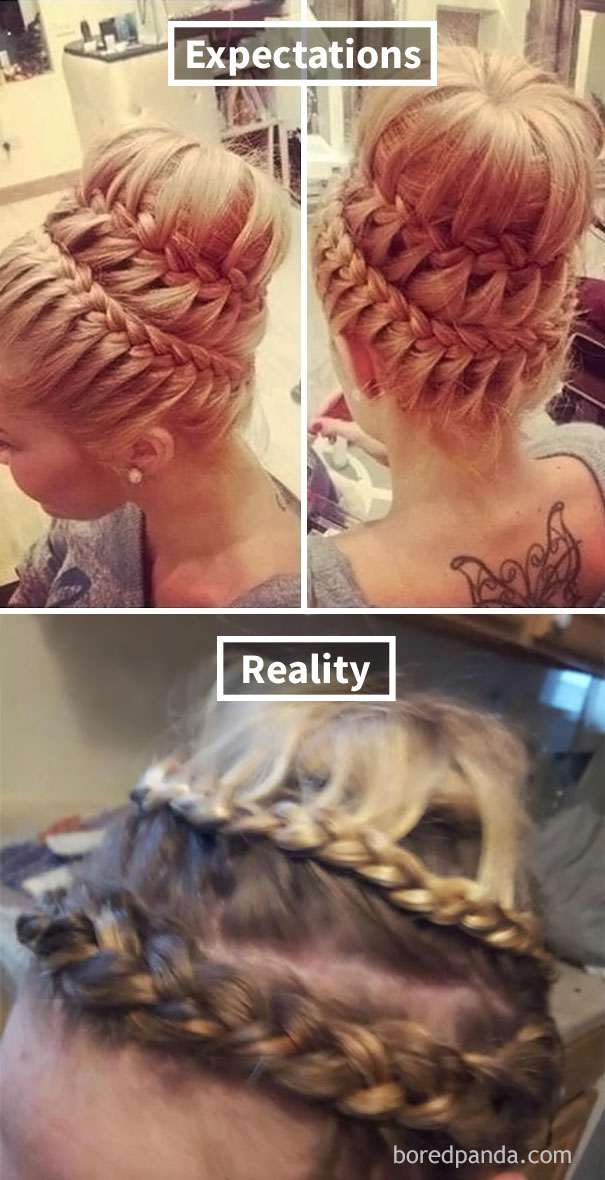 Hair Updo Fail