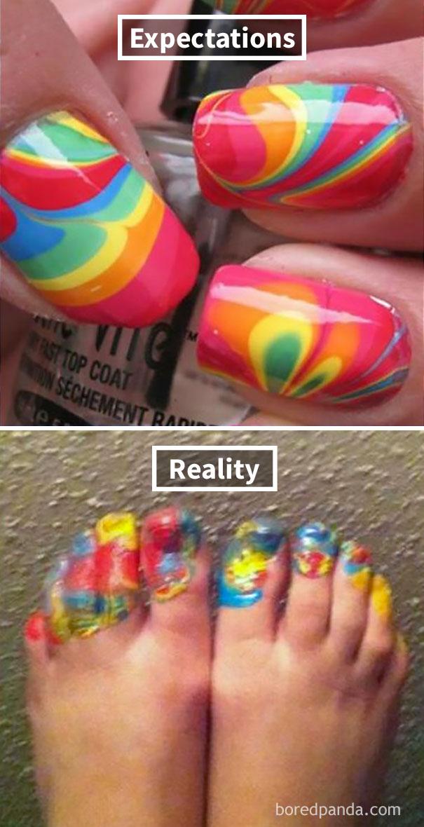 Swirl Nails Fail