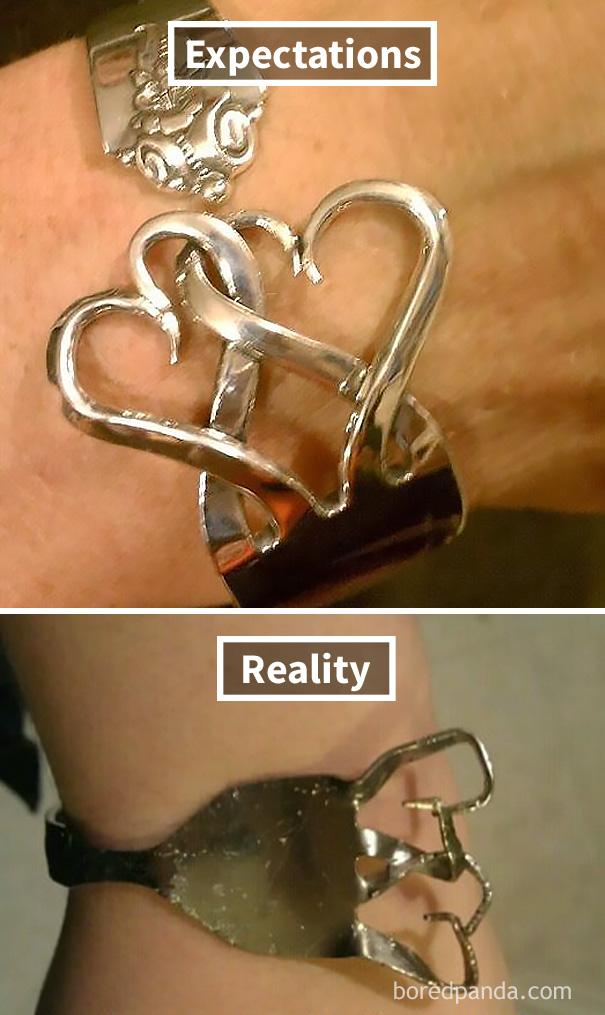 Fork Bracelet Fail