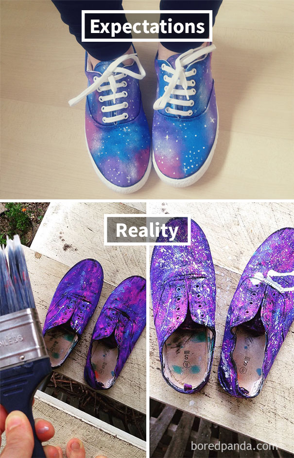 Galaxy Shoe Fail