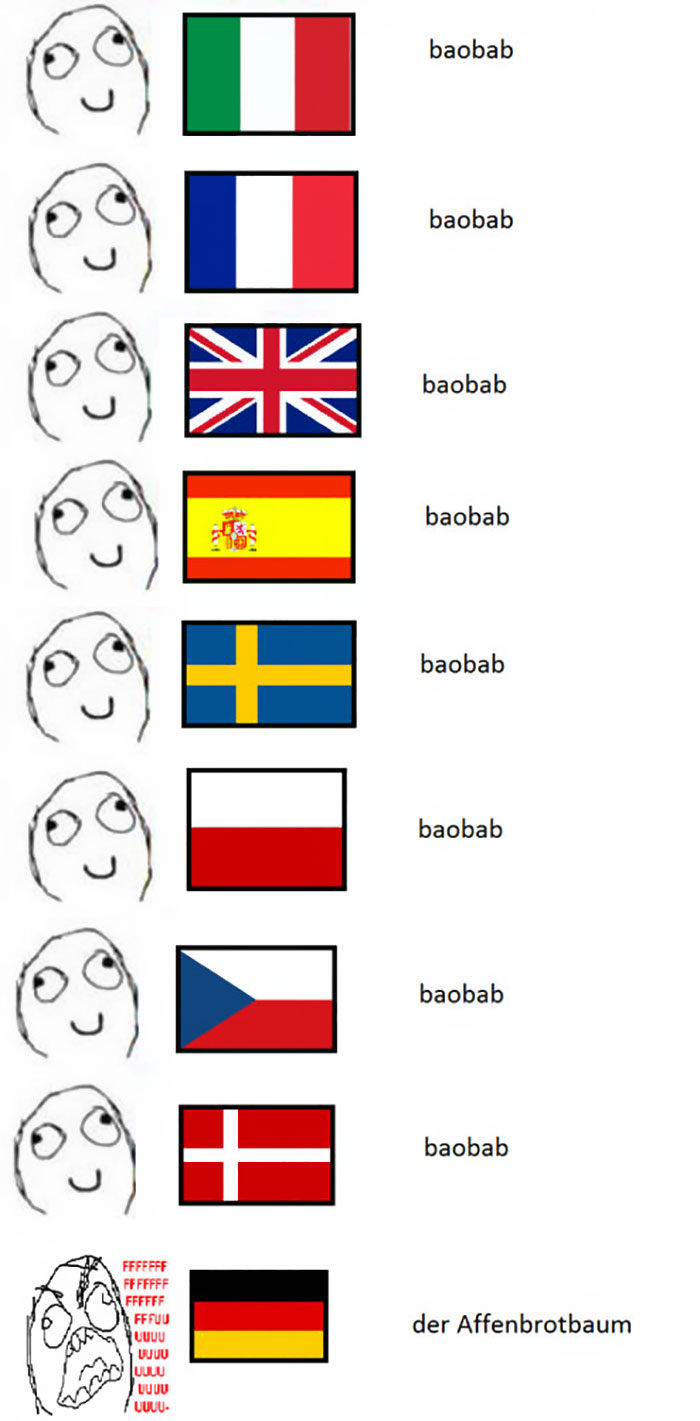 Funny German Language