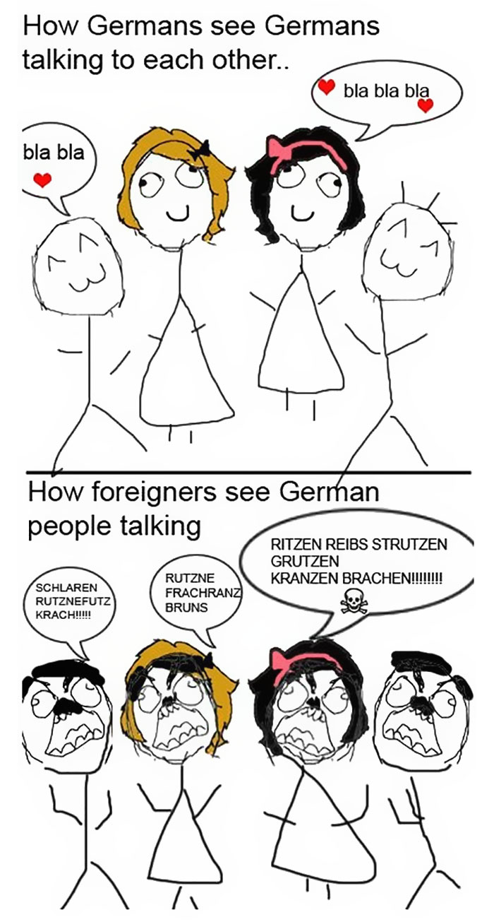 Germans vs. Foreigners