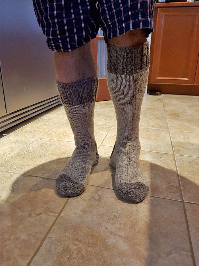 My Crooked Eyed Granny Knit Me Some Socks For Christmas