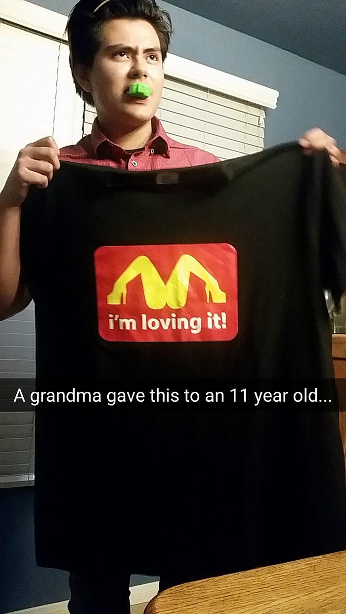 Grandma Gift Gone Wrong