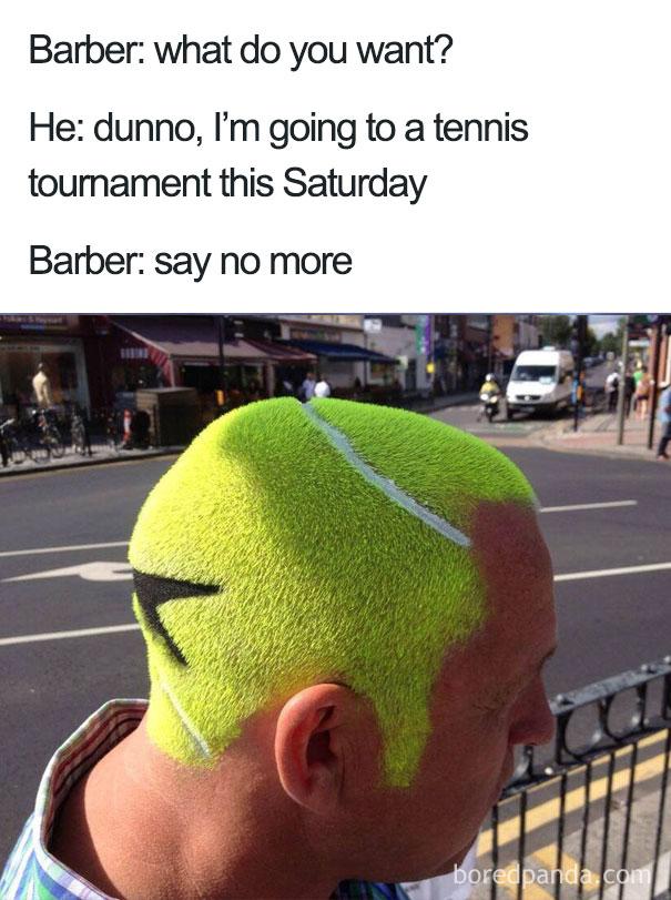 "Funny Meme Saying No : Terrible haircuts that were so bad they became ""say no"