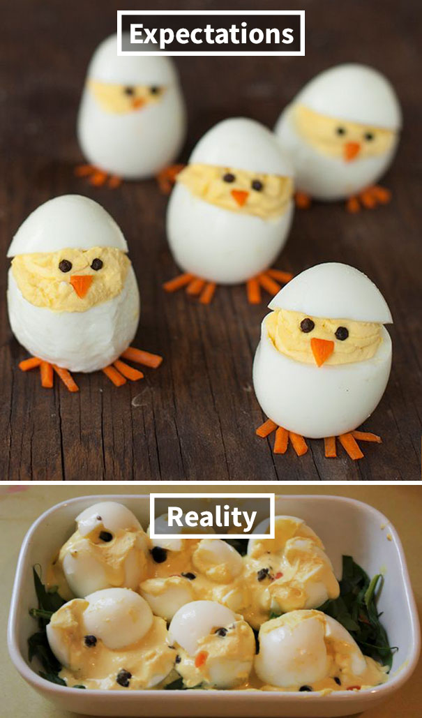 Hopefully These Deviled Egg Chicks Have Had Better Days