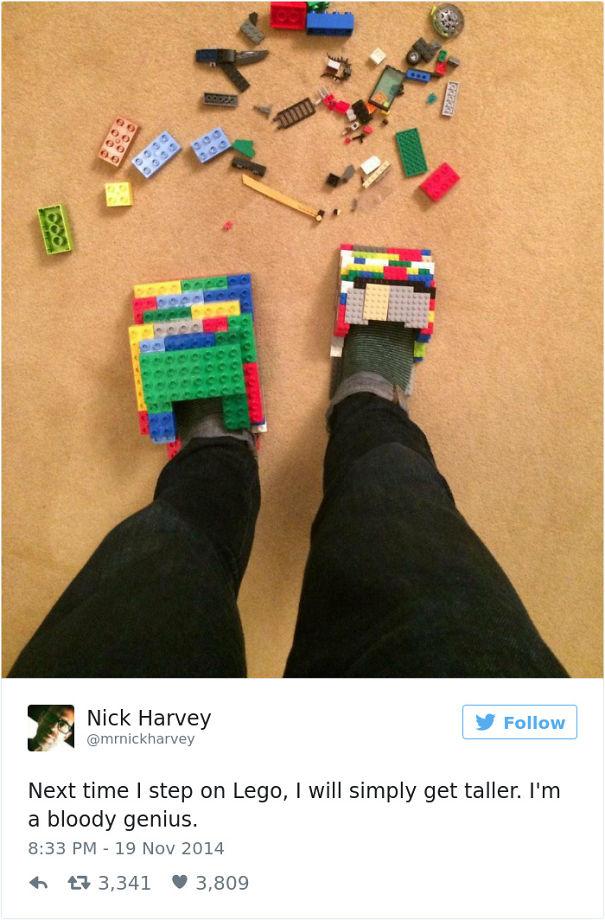 I'm A Lego Genius