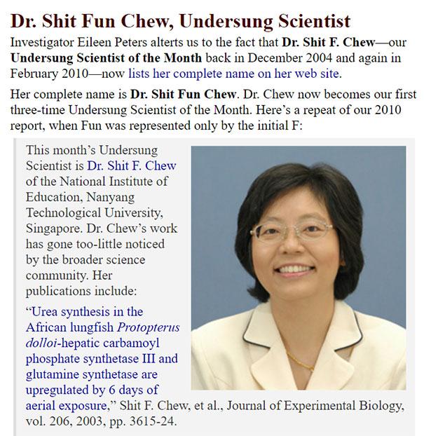 Dr. Shit Fun Chew