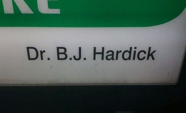 Dr. B. J. Hardick