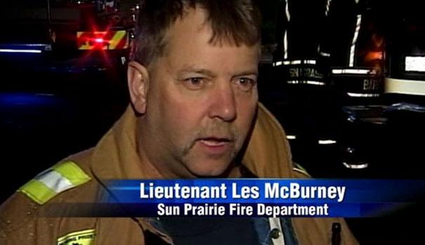 Lieutenant Les Mcburney