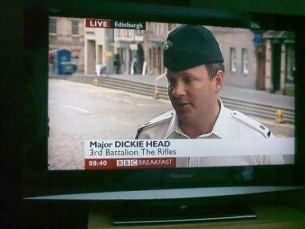 Major Dickie Head