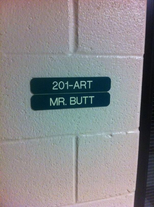 Mr. Butt
