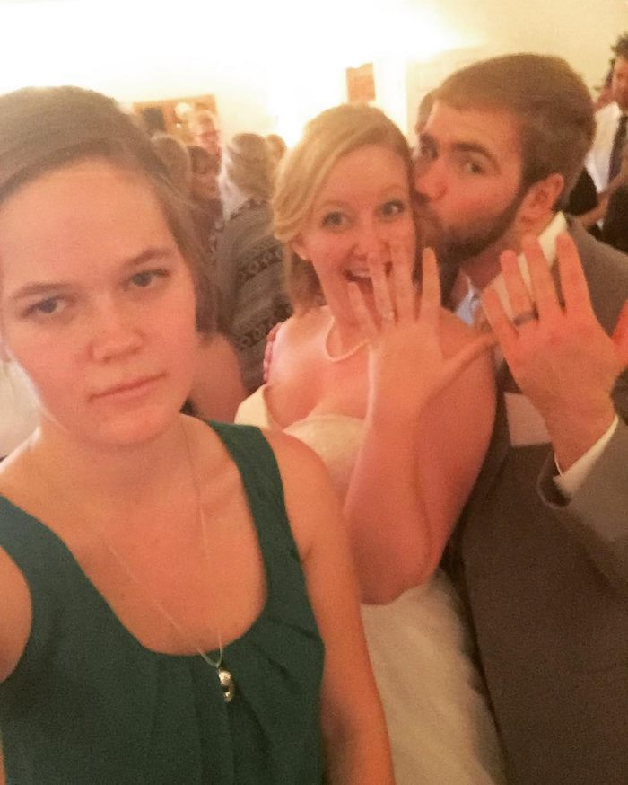 Third Wheel: Wedding Edition Part 2. Congrats To Emma And Tyler!