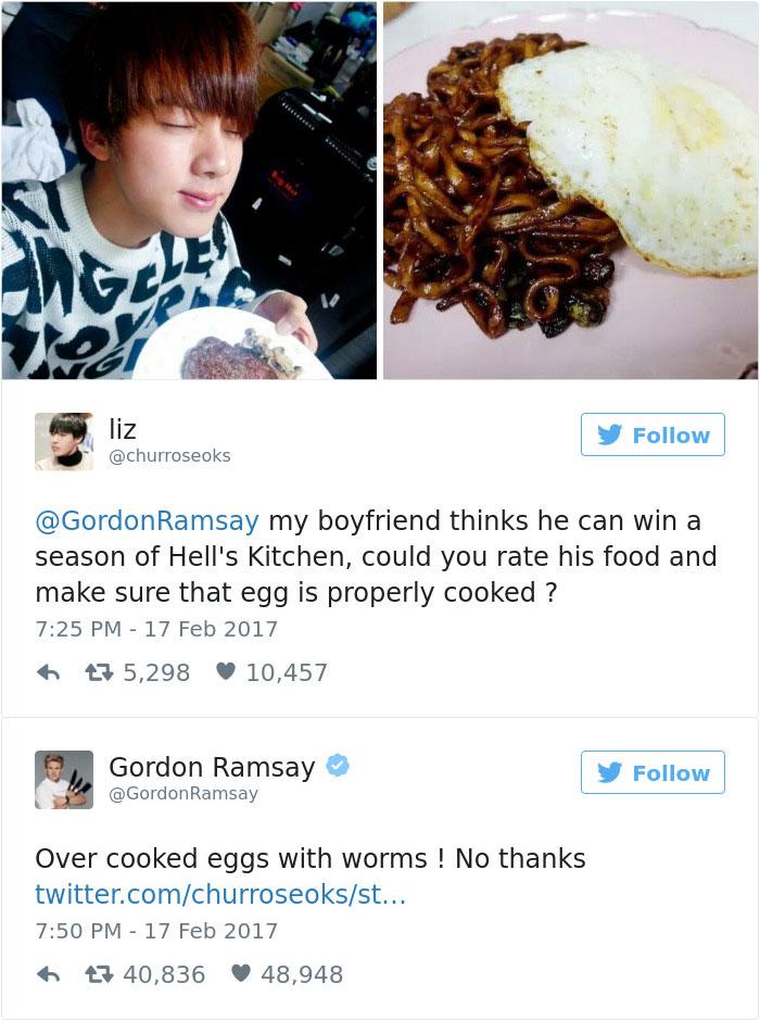 Ramsay Tweet