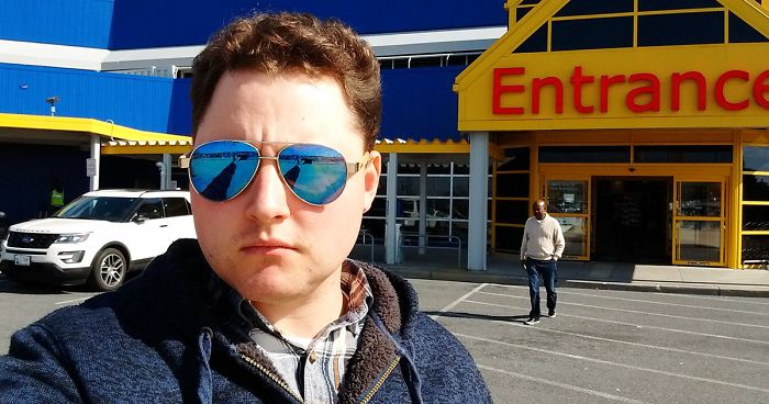 Man Secretly Documents His Wife Taking Him To IKEA Again, And His Photos Go Viral
