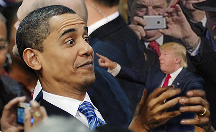 Don't Point Your Finger At Me Trumpy!