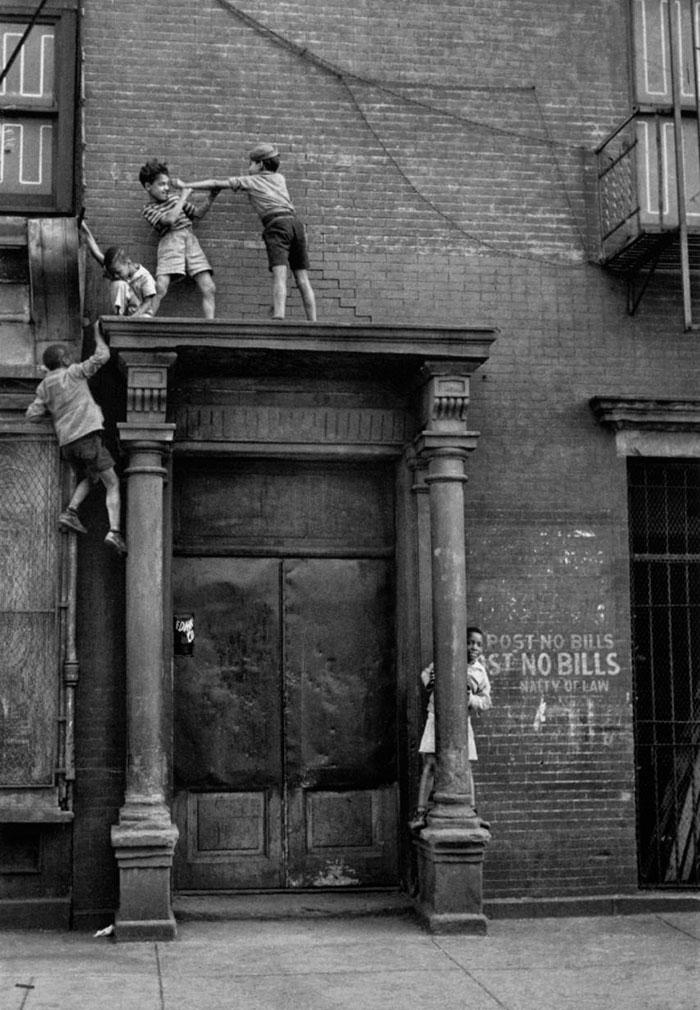 Children Playing, New York, 1940s