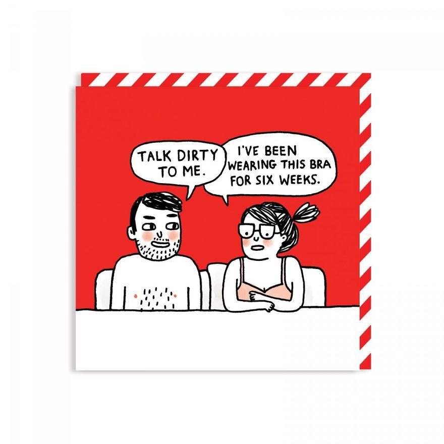 Honest Valentine's day card