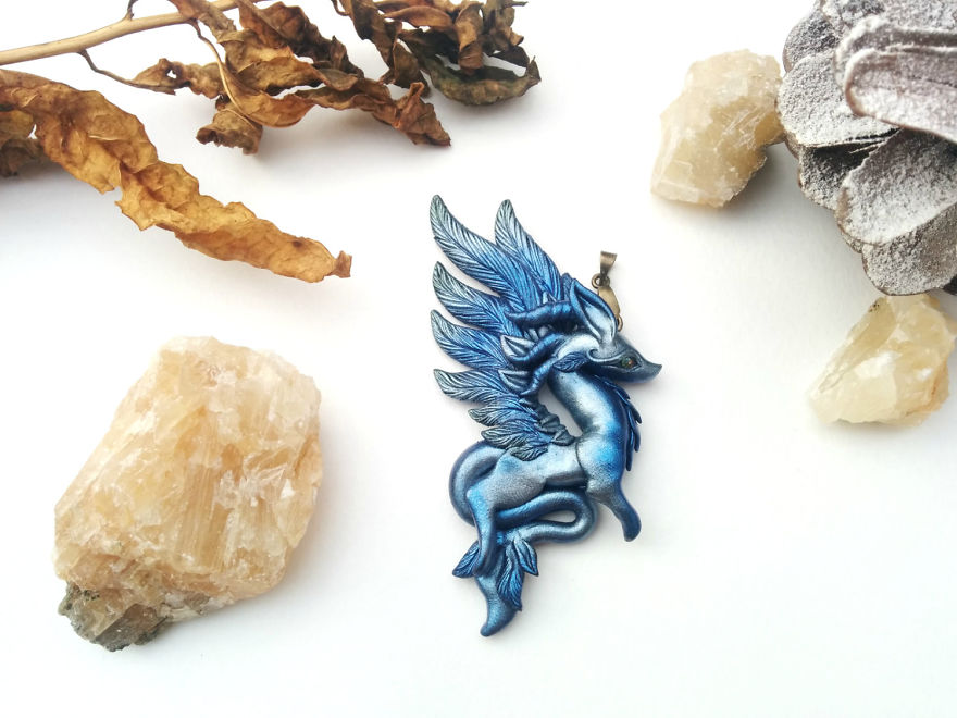 Divine Dragon Pendant