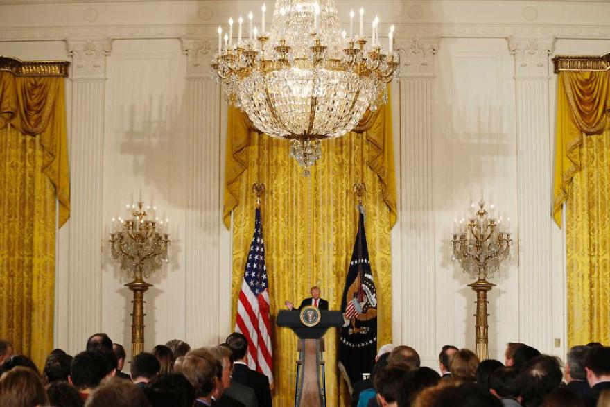 Little Trump's Big Press Conference