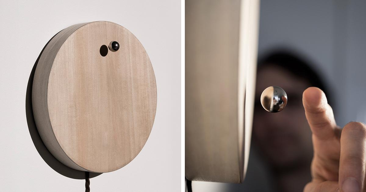 the levitating clock bored panda