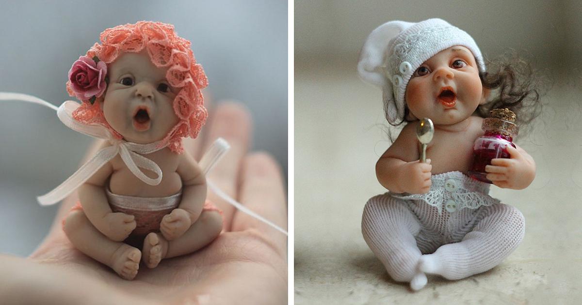 Realistic Baby Dolls By Russian Artist Elena Kirilenko
