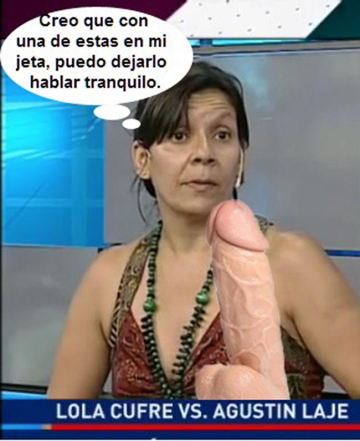Lola Cufré, El Tetazo Y Agustín Laje.