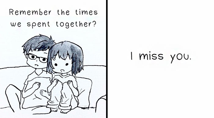 A Comic About A Long Distance Relationship Is Going Viral, And You'll Cry When You See The Ending