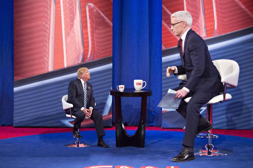Tiny Trump On Anderson Cooper