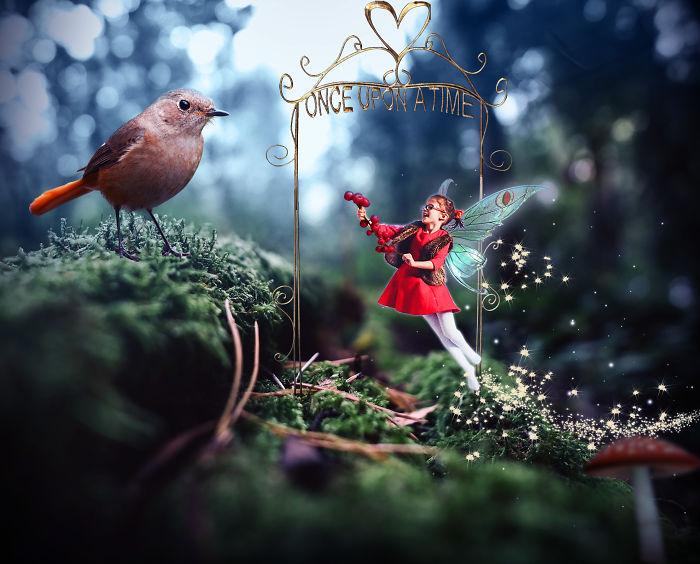 Little Fairy In Wonderland