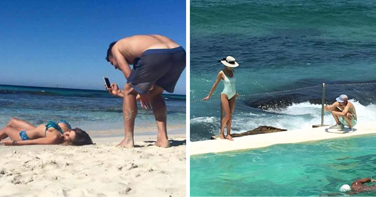 People Are Sharing Pics Of Boyfriends Forced To Take Perfect Pictures Of Their -9509