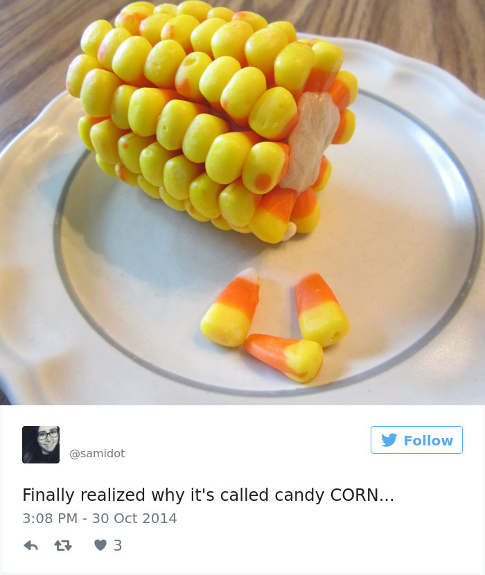 It's Called Corn For A Reason