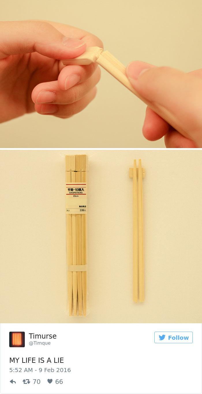 Optimal Use Of Chopsticks