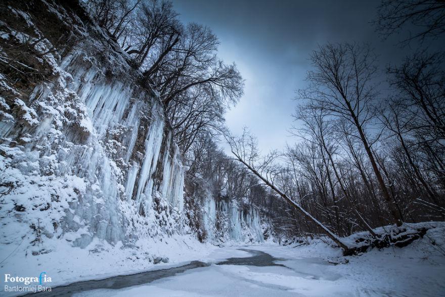 بالصور:أرض الجليد المدهشة في بولندا