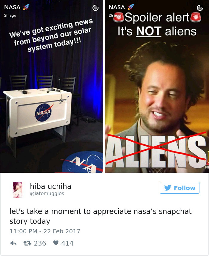 Reactions To Nasa