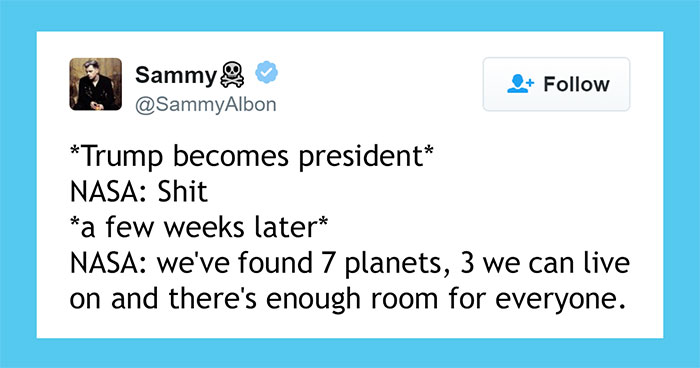 10+ Priceless Reactions To NASA's Discovery Of 7 New Earth-Like Planets