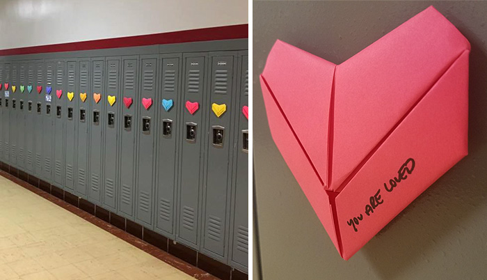 Anonymous Student Surprises Entire School With 9 Handmade Valentines He's Been Making Since September