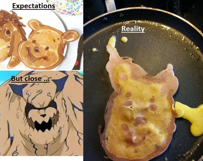 Pancake Fail Pooh. Keeps Reminding Me Of Shukaku