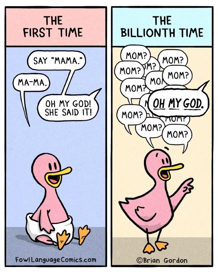 Parenting Comics
