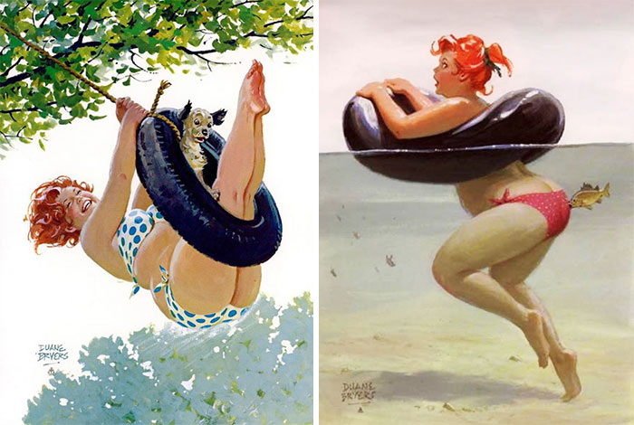 160 Sexy Illustrations Of Hilda: The Forgotten Plus-Size Pin-Up Girl From The 1950s