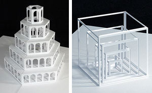 Pop-Up Paper Sculptures By Peter Dahmen