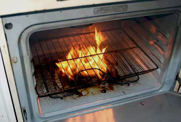 Put Dried Oak Chips Directly On The Elements Of Your Electric Oven To Give Chicken And Other Meats A Delicious Smokey Flavor While They Cook