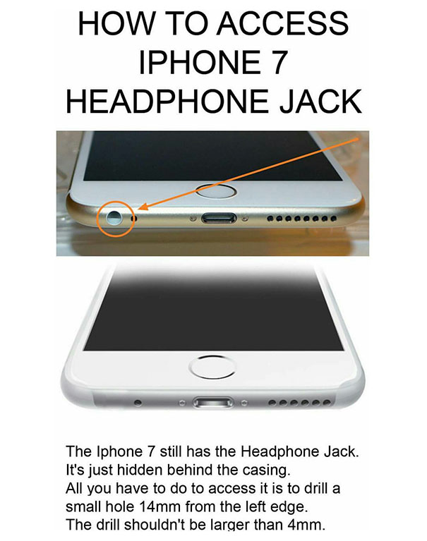 Access iPhone 7 Headphone Jack With This Simple Hack