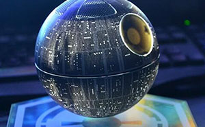 This Levitating Death Star Speaker Will Make You Join The Dark Side