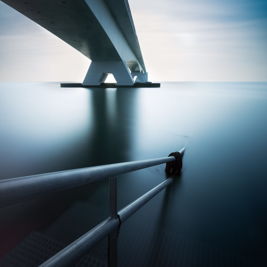 "Part Of The ""Zeeland"" Bridge"