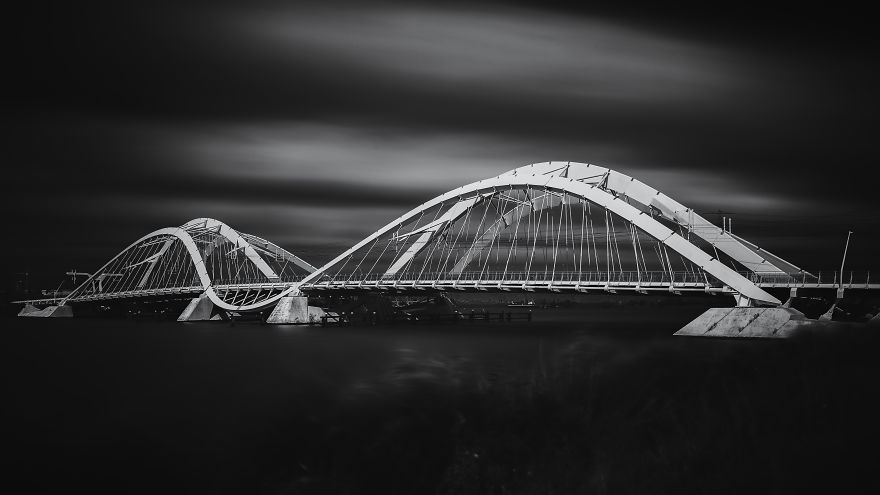 "The ""Enneus Heerma"" Bridge Near Amsterdam"