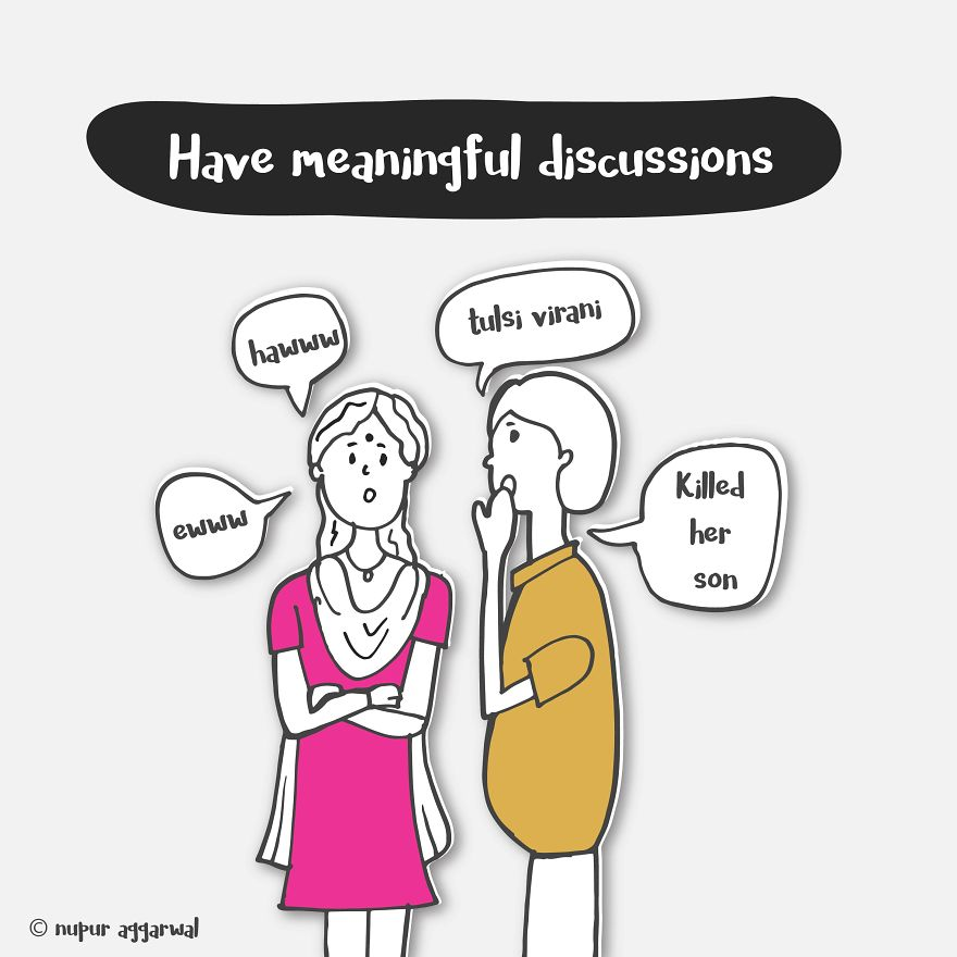 There's Nothing More Meaningful Than...*gossips*